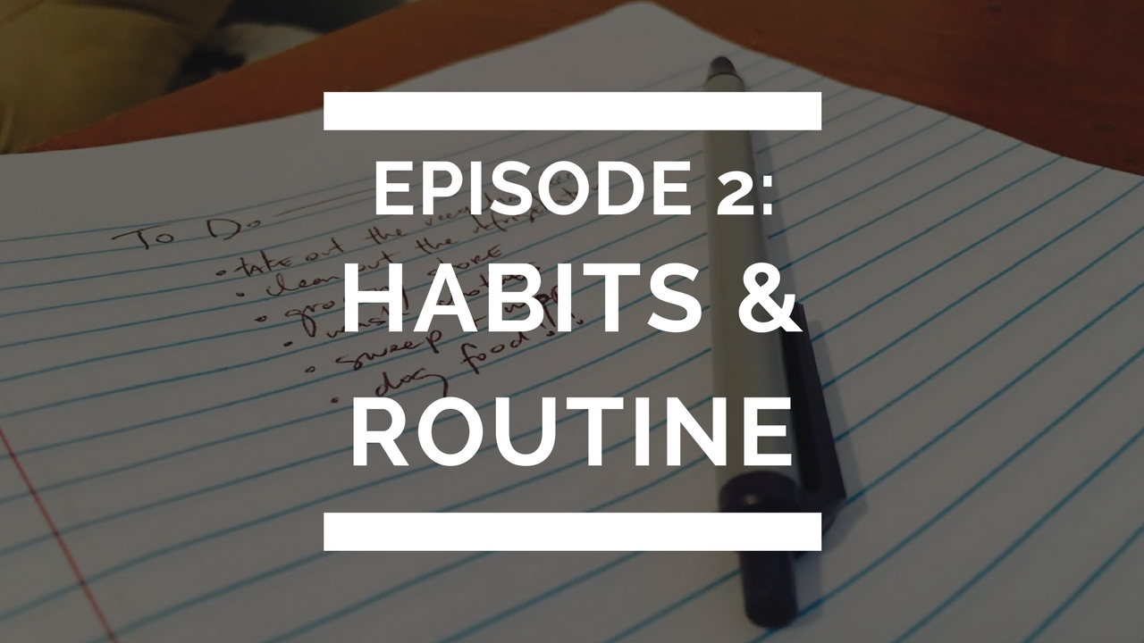 episode 2: habits and routine